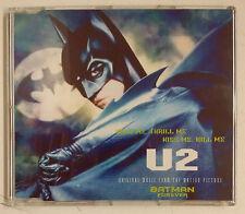 "U2 Hold Me, Thrill Me, Kiss Me, Kill Me Cd-single UK 1995 BSO ""Batman Forever"""