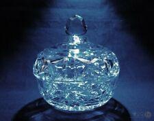 Vintage Cut Glass Lidded Trinket Pot / Bon Bon Dish | FREE Delivery UK*
