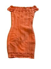 💋 GUESS BY MARCIANO PEACH XS BANDAGE DRESS 💋