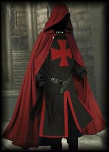 Medieval Knights Cape & Tunic Crusader Costume Bulk Reenactment 10 Pieces Lot