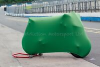 Kawasaki ZX6R ZX10R Super Soft Perfect Stretch Indoor BikeMotorcycle Cover Green
