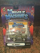 1:64 1967 Nova  MUSCLE MACHINES Injected In Green