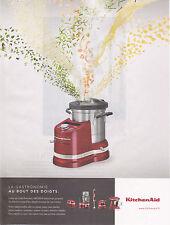 KITCHENAID - PUBLICITE PRESSE - PAPER ADVERT 2015 TBE