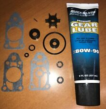 Gearbox Lower Unit Overhaul Oil Seal & Impeller Kit for 3.3HP Mercury Outboard
