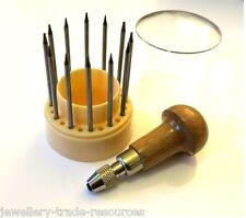 Jewellers Bead Grain Tool Set JEWELLERY MAKING Gemstone Setting Tools