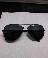 FEIDU Unisex Black Aviator Sunglasses Classic Sun Glasses Driving
