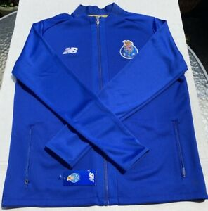 FC Porto New Balance Football Soccer Training Hoodie XXL Track Top NEW with Tags