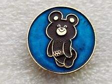 Vintage Soviet Badge Pin Sport Olympics 1980 Moscow,Olympic bear,icon USSR