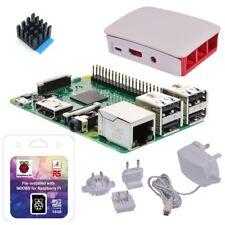 Raspberry Pi 3 Modell B Starter Kit weiß - QuadCore CPU 1GB RAM WLAN Bluetooth