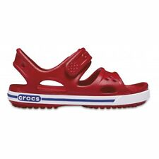 Crocs Crocband II PS Sandali a Punta Aperta Bambino Rosso (pepper/blue