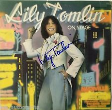 Lily Tomlin REAL hand SIGNED Lily Tomlin on Stage Album Record EXACT PROOF