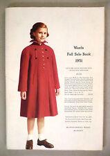 Montgomery Ward Sale CATALOG - Fall, 1951 -- Montgomery Wards Catalog