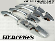 COUVRES CACHE POIGNEE PORTE CHROME MERCEDES W221 CLASSE S 04-13 S500 S65 AMG S63