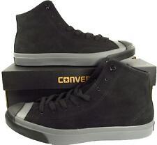 Converse Jack Purcell JP JACK MID Black Suede Leather 149924C (Men's 10)