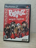 Bratz: Rock Angelz PS2 (Sony PlayStation 2, 2005) COMPLETE! Tested & Working!