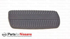 GENUINE NISSAN BRAKE PEDAL PAD A/T AUTO TRANS TITAN FRONTIER XTERRA NEW OEM