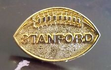 Stanford football gold tone lapel pin pre-owned