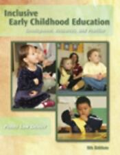 Inclusive Early Childhood Education : Development, Resources, and Practice by P…
