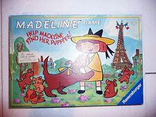 Vintage Madeline Memory Board Game Ravensburger 1992 Help Find Her Puppies