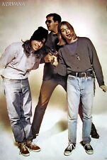 "Nirvana ""Band With Gun"" Poster From Asia - Grunge, Alt Rock Music, Kurt Cobain"