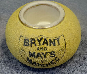 GLAZED EARTHENWARE  MATCH STRIKER - BRYANT & MAY CONTEMPORARY