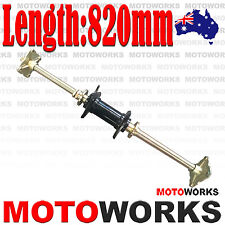 Rear Axle Assembly with Carrier Hubs 150cc 250cc Quad Dirt Bike ATV Dune Buggy S