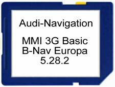 Audi MMI3G BASIC BNav-EU Update und Software (5.28.2) 2019