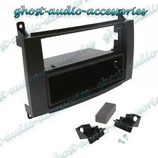 Mercedes Einzel Din Auto CD Stereo Radio Facia Fascia Surround Adapter Platte