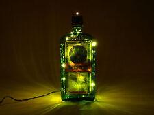 Jägermeister - Flaschen Lampe neue Etikettversion, mit 80 LEDs Warmweiß L2-80w