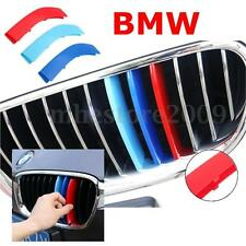 Car Front Grill Bar M 3 Colors Cover Decal Buckle Sticker For BMW 5 Series 14-15