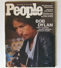 Bob Dylan People Magazine November 10, 1975 Issue Minty!
