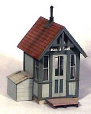 BANTA 2065 HO HON3 CROSSING SHANTY Model Railroad Structure Wood Kit FREE SHIP