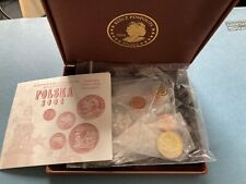 More details for poland set of 9 pattern coins 2004 with certificate trial