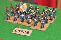 25mm napoleonic / french - line regt. 24 figures - (45278)