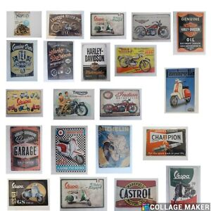 Retro metal signs 300mmx200mm  A4 SIZE