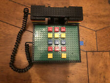 Vintage 1988 Tyco Lego Telephone With Drawer. Working Order