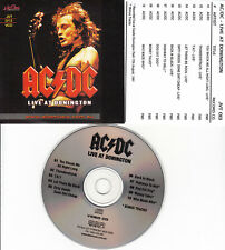 AC/DC ACDC LIVE AT DONINGTON VCD MUSIC VIDEOS
