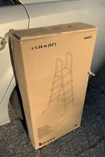 "SHIPS SAME DAY Intex 52"" Pool Ladder Above Ground Pool Stepping Ladder"