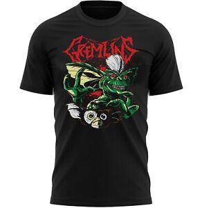 Gremlins Halloween Movie T-Shirt Adults Novelty Shirt Top Gift For Men & Women
