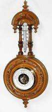 ✅ 03 Barometer mit Thermometer, Wetterstation 1912 ✅