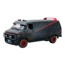 GMC Van A Team 1983 Dirty Version Black 1/18 - 13567 GREENLIGHT