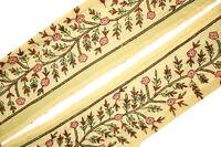 Vintage Trim Indian Ribbon Saree Border Embroidered Trim Sari Trim By 1Yd
