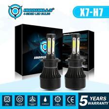 H7 LED Headlight Bulbs 255000LM 1700W 6000K Cool White Conversion Kit 4 Sides