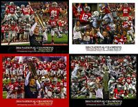 Ohio State Buckeyes NCAA Football National Champions (4) Four Pack all Titles