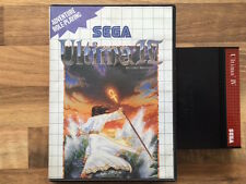 Master System: ULTIMA IV 4   en boite