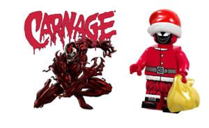 CARNAGE CHRISTMAS FIGURE USA SELLER NEW MINIFIGURE FITS LEGOS