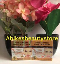 PURE EGYPTIAN MAGIC WHITENING BEAUTY FACE CREAM -  GOLD FACE DAY & CARROT NIGHT