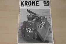 163382) Krone Kronevator RE 25/105 Prospekt 1983