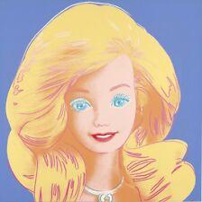 Andy Warhol barbie portrait portrait canvas print giclee 11.7X11.7  reproduction