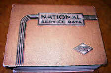 34 35 36 37 38 39 40 46 47 National Service Manual Lincoln Olds Hudson Cadillac